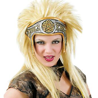 Amazone wig with headband hair blond