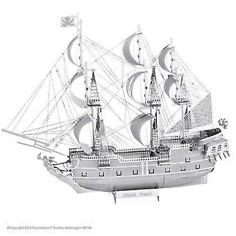 Metal Earth Schiffsmodell Black Pearl Model kit