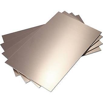 Bungard 030306E70 Circuit Board Base Material Cu-coating (L x W) 100 mm x 50 mm Hard paper/single-sided/1 x 35 µm Cu