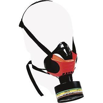 Ekastu sekur polimask alfa 466 620 halvmaske åndedrætsværn m/o filter