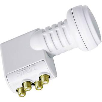 Smart Titanium Universal TQS Quad LNB No. of participants: 4 LNB feed size: 40 mm with switch