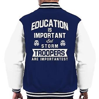 Educação de Stormtrooper original é jaqueta importante masculino