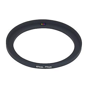 TRIXES 67mm 至 77mm 67-77 步进相机滤芯环适配器
