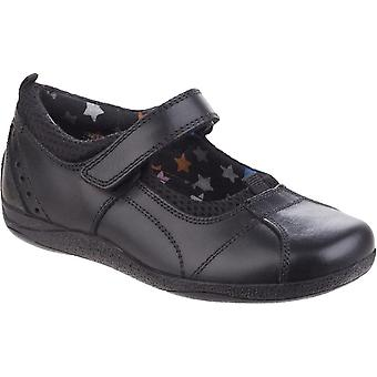 Hush Puppies Childrens Girls Cindy Senior Back To School Leather Shoes