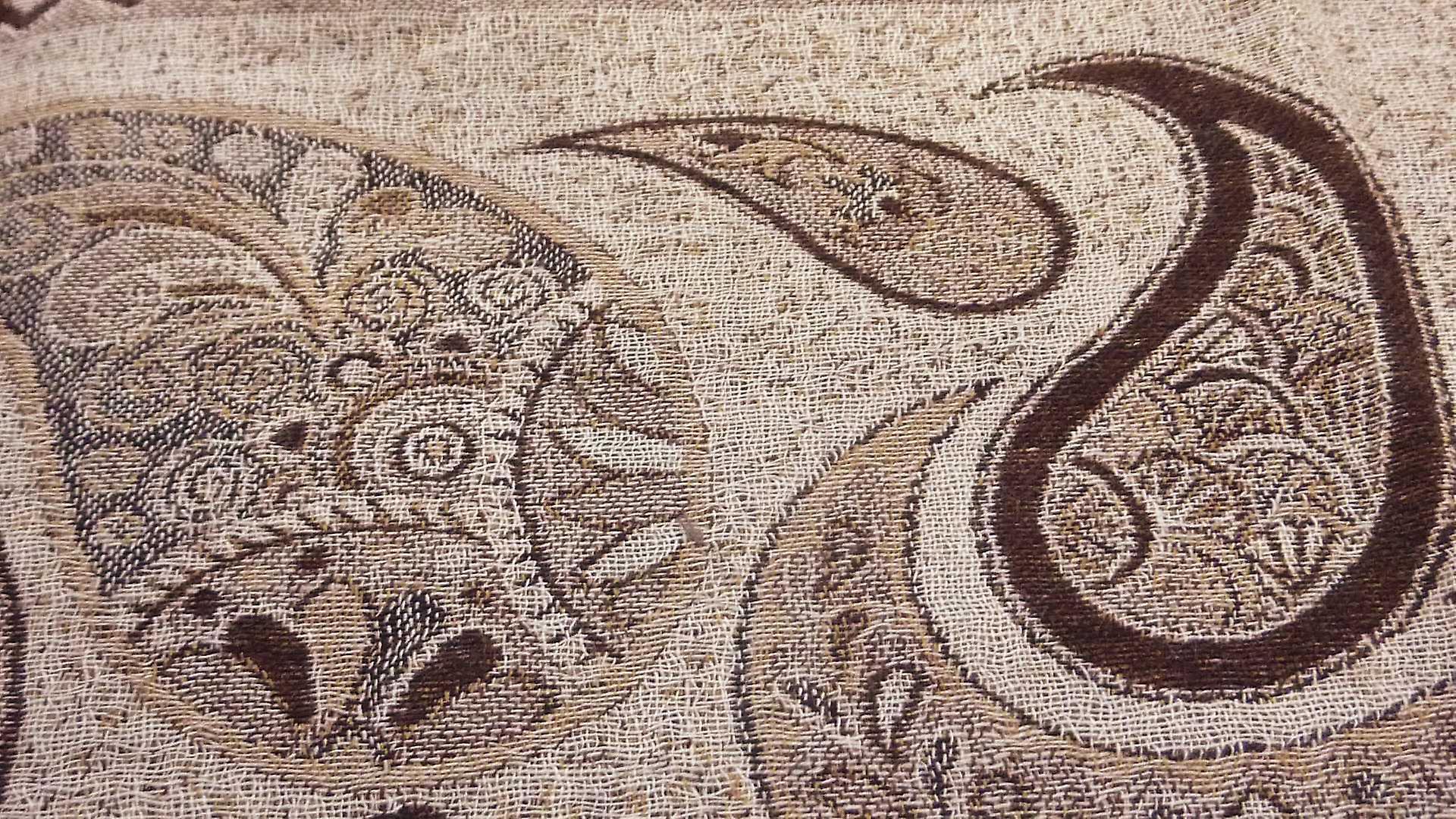 Muffler Scarf 9403 in Fine Pashmina Wool Heritage Range by Pashmina & Silk