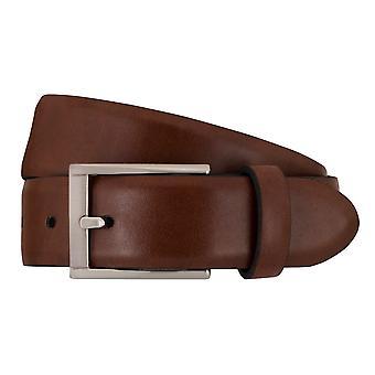 SAKLANI & FRIESE belts men's belts leather belt Brown 1462