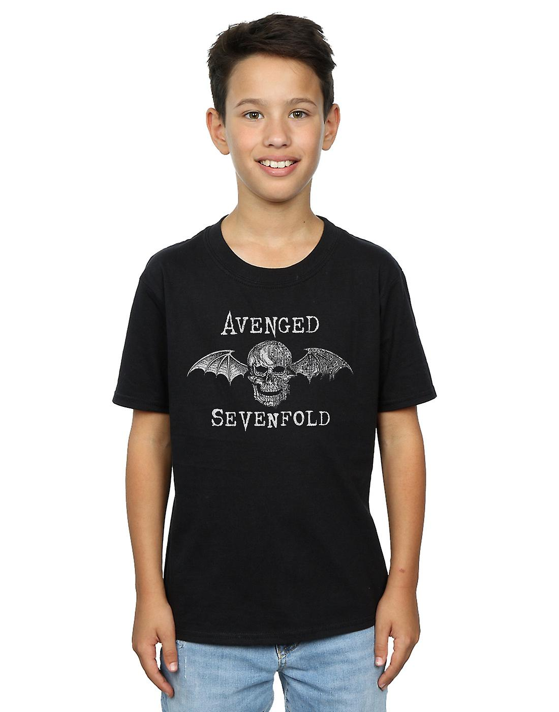 Avenged Sevenfold Boys Cyborg Deathbat T-Shirt