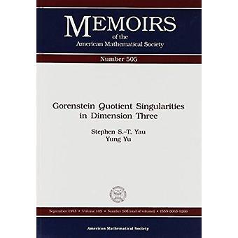 Gorenstein Quotient Singularities in Dimension Three by Stephen Shing