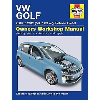 VW Golf bensin & Diesel - (09-12) 58 – 62 av Peter Gill - 978178521