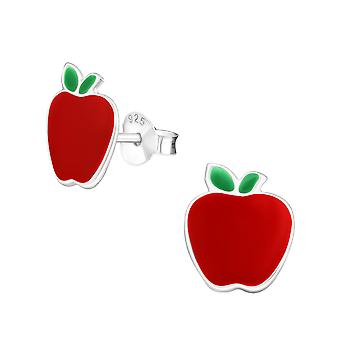 Apple - 925 argent Sterling coloré argenter - W4974X