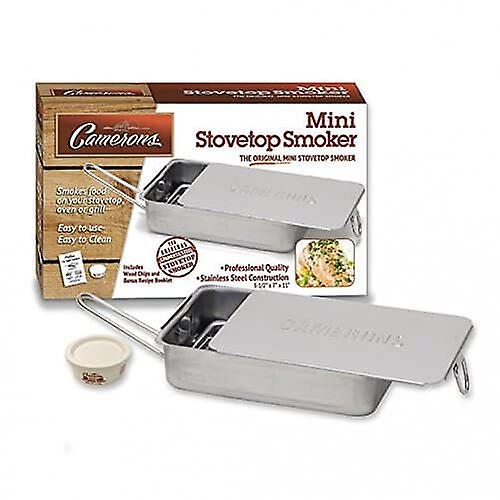 Stovetop Mini Gourmet Food Smoker - Indoor & BBQ