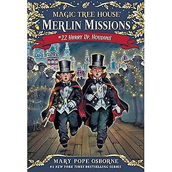 Casa da árvore mágica #50: Rápido, Houdini! (Piso de pedra Book(tm)) (Um pisando pedra livro)