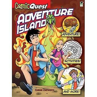 ComicQuest Adventure Island (Dover aktivitet barnböcker)