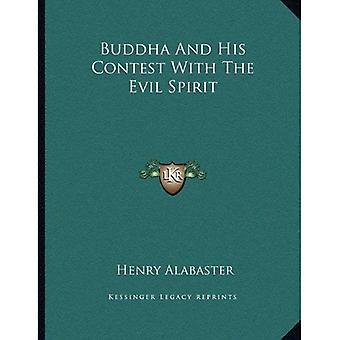 Boeddha en zijn wedstrijd met de boze geest