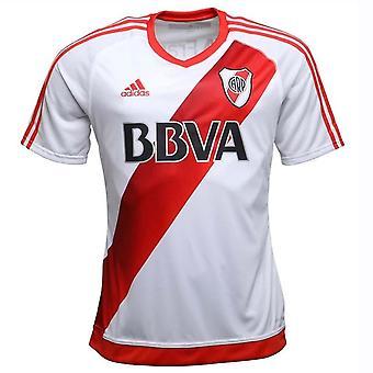 2016-2017 elva Plate Adidas hjem fotball skjorte
