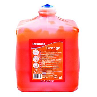 Deb Sor2Lt 2 Litre Swarfega Orange Cartridge