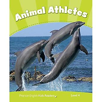 Level 4: Animal Athletes CLIL (Pearson English Kids Readers)