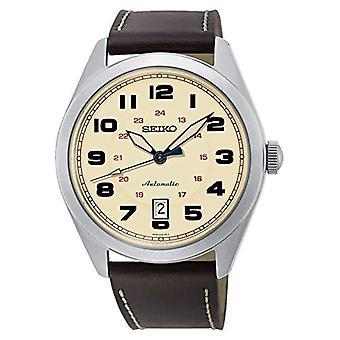 Analogique de Seiko watch montre automatique homme cuir SRPC87K1