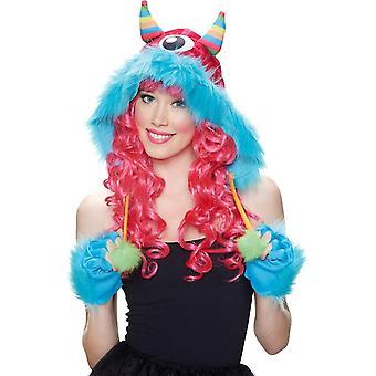 Kit Hood Monster Rainbow