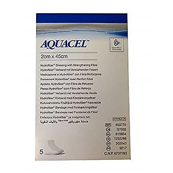 AQUACEL WOUND DRESSING S7503 2CM X 45CM 5