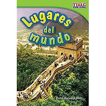Lugares del Mundo = endroits autour du monde