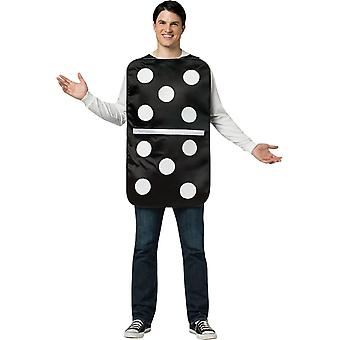 Costume adulto di Domino