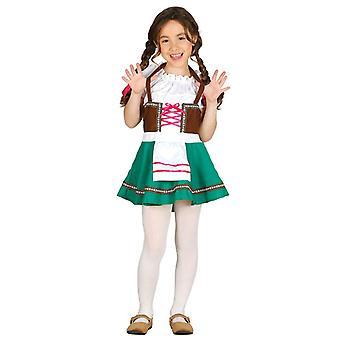 Meisjes Beierse Oktoberfest Fancy Dress kostuum