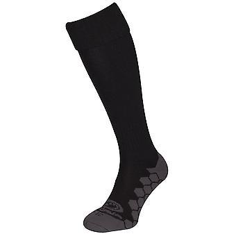 Optimaalinen Classico jalka pallo Soccer Rugby Sport sukat musta