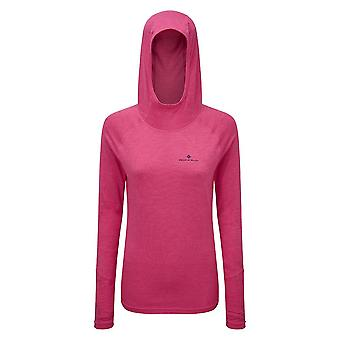 Ron Hill Womens Momentum Aerobic Lightweight Running Hoodie
