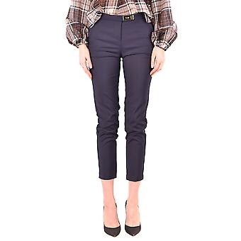 Try Me Ezbc213002 Women's Blue Cotton Pants