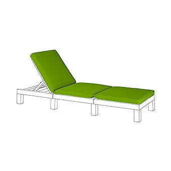 Gardenista® lime cuscino sedile per Keter Allibert Daytona lounger