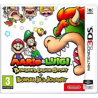 Mario & Luigi Bowser's Inside Story + Bowser Jr. 's Journey Nintendo 3DS jeu