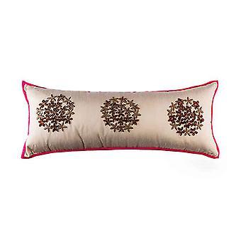 埃及绣花投掷枕头盖