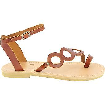 Attica Sandali 5046 Donne's Flip flop in pelle marrone