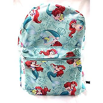 Backpack - Disney - Little Mermaid Green School Bag New 100223