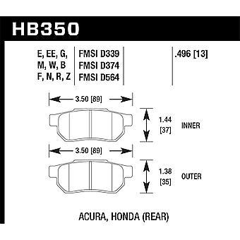 Hawk prestaties HB350F. 496 HPS