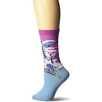 Damen Crew Socken - K Bell - Dolphins Purple