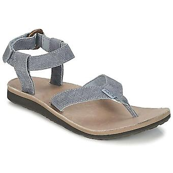 Teva Womens Original Sandal Leather Diamond Open Toe Casual Sport Sandals