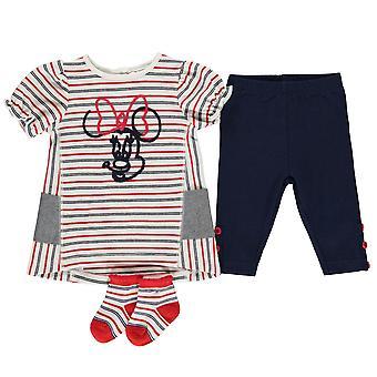 Personnage Baby Kids Girls 3 Piece Dress Set Vêtements Short Sleeve Crew Neck