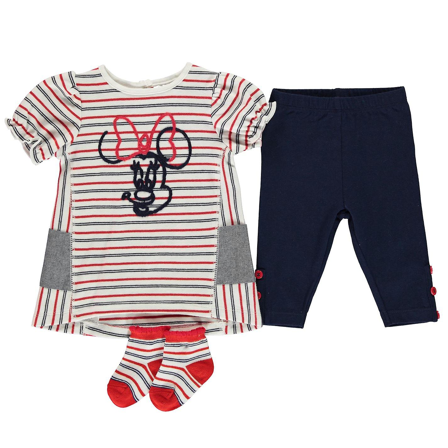 Character Baby Kids Girls 3 Piece Dress Set Clothing Short Sleeve Crew Neck