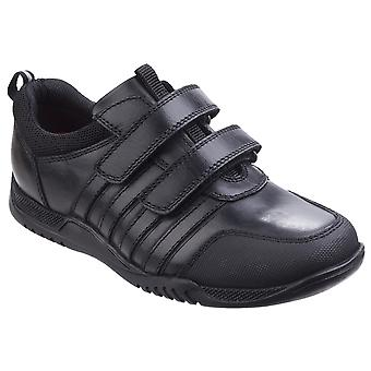 Hush Puppies Boys Josh Junior Leather School Shoes
