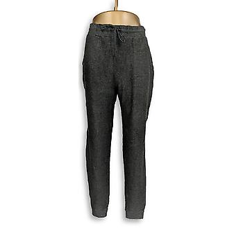 Anybody Women's Pants Brushed Waffle Jogger charcoal Gray A345168