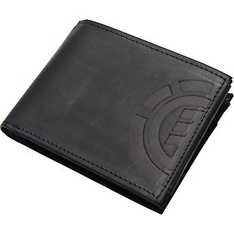 Element Wallet with CC, Note and Coin Pockets ~ Daily Elite black black