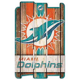 Wincraft PLANK Wood Sign Wood Sign - NFL Miami Dolphins