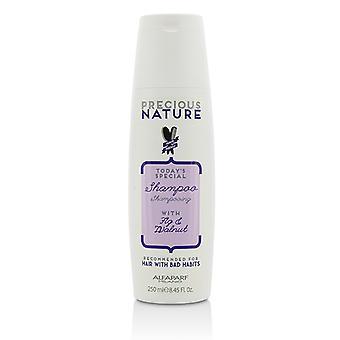 AlfaParf の貴重な自然は今日の (悪い習慣で髪) のための特別なシャンプー 250 ml/8.45 オンス