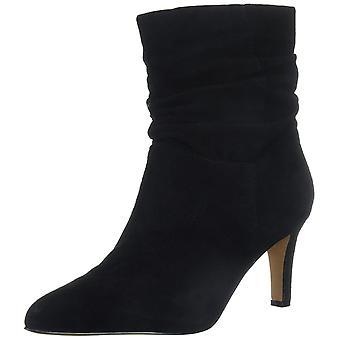 ADRIENNE VITTADINI Ayakkabı Kadın's Shanta Ayak Bileği Boot, Siyah, 9.5 M ABD
