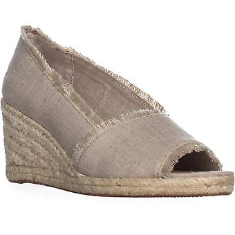 Lauren by Ralph Lauren Womens Carmondy Fabric Peep Toe Casual Platform Sandals
