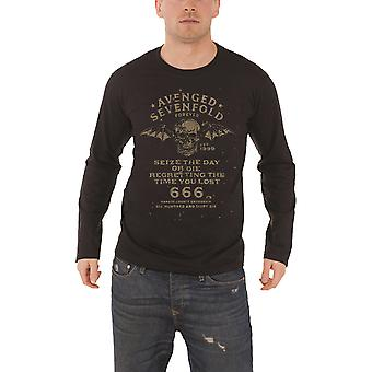Avenged Sevenfold T Shirt Seize The Day new Official Mens Black Long Sleeve