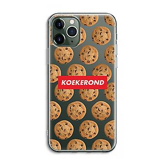 iPhone 11 Pro Max Transparent Case (Soft) - Koekerond