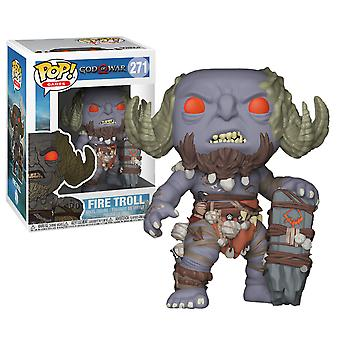 God of War (2018) Fire Troll Pop! Vinyl